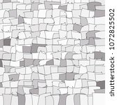 mosaic vector background.... | Shutterstock .eps vector #1072825502
