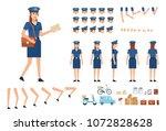postwoman creation kit. create... | Shutterstock .eps vector #1072828628