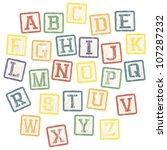 baby blocks alphabet collection....