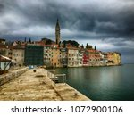 rovinj  croatia   april 15 ... | Shutterstock . vector #1072900106