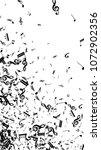 musical notes on white... | Shutterstock .eps vector #1072902356