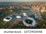 melbourne aerial skyline | Shutterstock . vector #1072903448