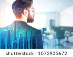 finance and trade concept.... | Shutterstock . vector #1072925672
