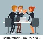 vector business illustration | Shutterstock .eps vector #1072925708