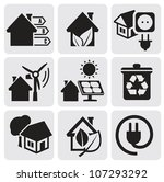 vector houses | Shutterstock .eps vector #107293292