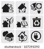 vector houses | Shutterstock .eps vector #107293292