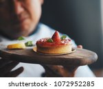 close up master chef hands... | Shutterstock . vector #1072952285