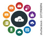 cloud and networking  cursors ...   Shutterstock .eps vector #1072980896