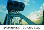 ferris wheel in singapore   Shutterstock . vector #1072994102