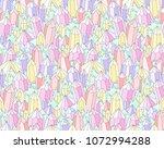 fantasy landscape with... | Shutterstock .eps vector #1072994288