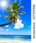 vacation in a dream exotic scene | Shutterstock . vector #107299586