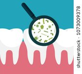 vector illustration. bacteria...   Shutterstock .eps vector #1073009378