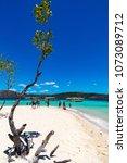 coron palawan philippines april ...   Shutterstock . vector #1073089712