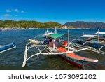 coron palawan philippines april ...   Shutterstock . vector #1073092202