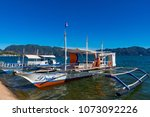 coron palawan philippines april ...   Shutterstock . vector #1073092226