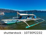 coron palawan philippines april ...   Shutterstock . vector #1073092232