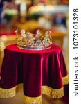 Gold Precious Crown For Wedding ...