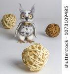 Wool Owl Hand Made Concept Art...