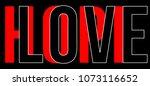 female future  nested letter...   Shutterstock .eps vector #1073116652