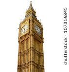 big ben | Shutterstock . vector #107316845