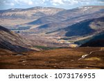 cairngorm mountains on the... | Shutterstock . vector #1073176955