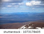 cairngorm mountains and... | Shutterstock . vector #1073178605