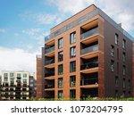 modern european residential... | Shutterstock . vector #1073204795