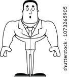 a cartoon businessperson... | Shutterstock .eps vector #1073265905