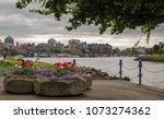 victoria  vancouver island ...   Shutterstock . vector #1073274362