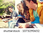 education  high school and... | Shutterstock . vector #1073290652