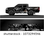 truck graphic vector design.... | Shutterstock .eps vector #1073294546