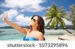 travel  tourism  summer... | Shutterstock . vector #1073295896