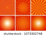 abstract spiral background of... | Shutterstock .eps vector #1073302748