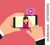 people social media | Shutterstock .eps vector #1073342042