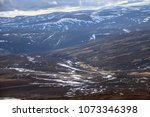 cairngorm mountains. view from... | Shutterstock . vector #1073346398
