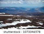 cairngorm mountains. view from... | Shutterstock . vector #1073346578