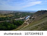 View of Kern River landscape during spring season at Panorama Vista Preserve, Bakersfield, CA.