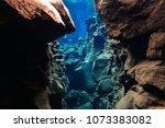 snorkeling and scuba diving in... | Shutterstock . vector #1073383082