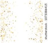 gold stars background ... | Shutterstock . vector #1073386415