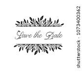 Save The Date Hand Lettering...