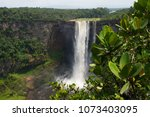 kaieteur falls. guyana  amazon...   Shutterstock . vector #1073403095