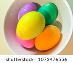 easter eggs are decorated eggs... | Shutterstock . vector #1073476556