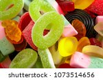 confectionery sweets and... | Shutterstock . vector #1073514656