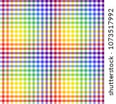 seamless background. checkered... | Shutterstock .eps vector #1073517992