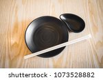 japanese dining kitchenware set ... | Shutterstock . vector #1073528882