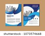 business abstract vector... | Shutterstock .eps vector #1073574668
