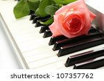 background of synthesizer...   Shutterstock . vector #107357762