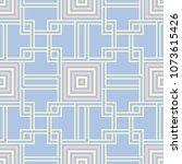 geometric seamless pattern.... | Shutterstock .eps vector #1073615426