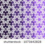set of 4 geometric patterns in... | Shutterstock .eps vector #1073642828