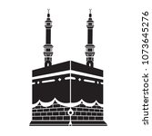 kaaba logo vector drawn | Shutterstock .eps vector #1073645276